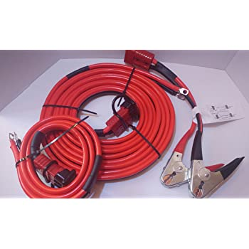 2 Gauge 32 ft. Hi-Amp Universal Quick-Connect Wiring Kit for Trailer Mounted Winch