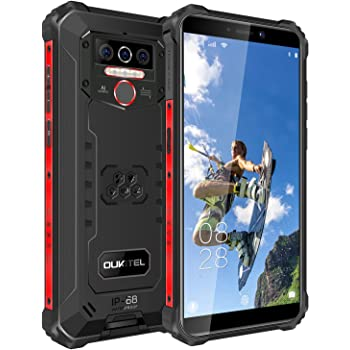 OUKITEL WP5 Rugged Cell Phone IP68Waterproof Dustproof Shockproof 8000mAh Smartphone Android 10.0 Mobile Phone