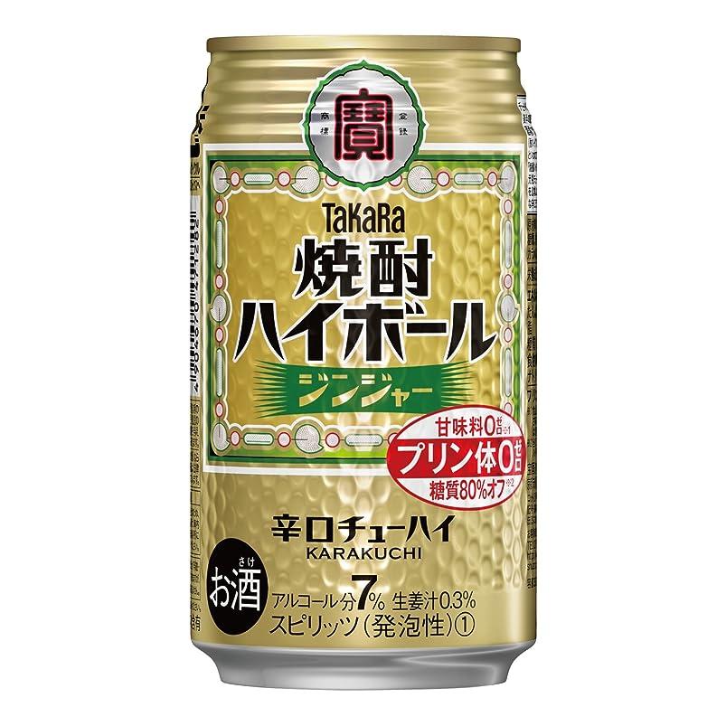 かんがい爬虫類乳剤宝 焼酎 ハイボール ジンジャー 350ml