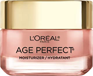 Face Moisturizer by L'Oreal Paris Skin Care I Age Perfect Rosy Tone Moisturizer for Face for Visibly Younger Looking Skin ...