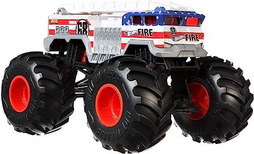 wholesale Hot Wheels Monster Trucks 1:24 sale 5 Alarm new arrival Vehicle [Amazon Exclusive] online