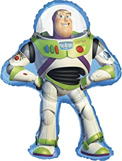 amscan Anagram Toy Story 'Buzz Lightyear' Supershape Balloon (1ct)