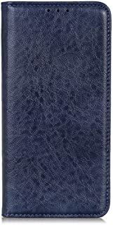 zl one Compatible with/Replacement for Phone Case LG K20 2019 PU Leather Card Slots Wallet Case Flip Cover (Blue)