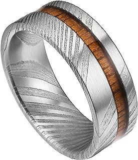 wood metal ring