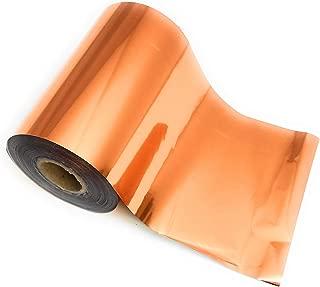 Copper Bright Metallic Toner Reactive Craft Foil - Large 4