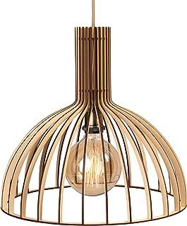 Sponsored Ad - WOODEN LAMP Catris Chandelier Light, Modern Chandelier ,Wood Pendant Light,Handmade Wood Lamp, Industrial L...