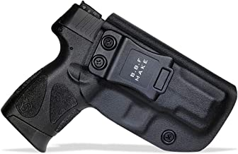 B.B.F Make IWB KYDEX Holster Fit: Taurus G2C & Millennium G2 PT111 / PT140   Retired Navy Owned Company   Inside Waistband   Adjustable Cant   US KYDEX Made
