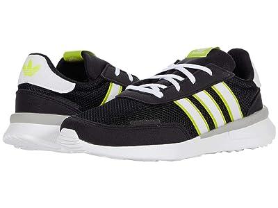adidas Originals Kids Retroset C (Little Kid) (Core Black/Footwear White) Boys Shoes