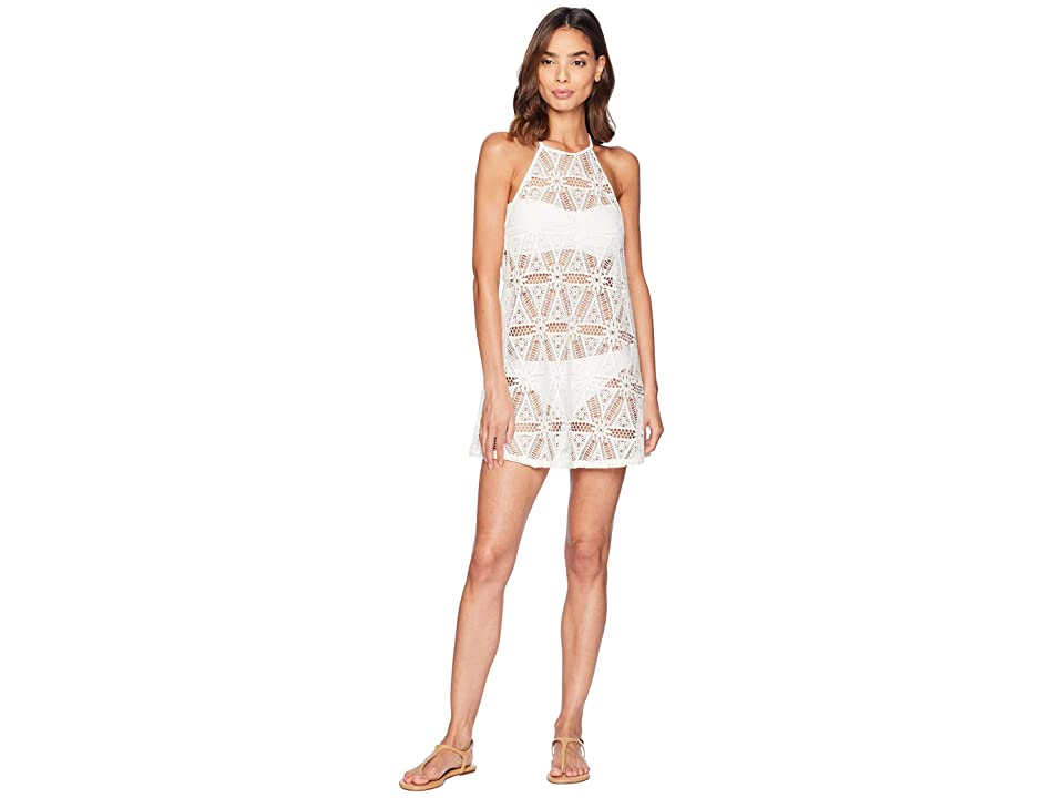 Roxy Goldy Sandy Dress Cover-Up (Marshmallow) Women