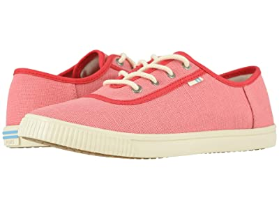 TOMS Carmel (Strawberry Milkshake Heritage Canvas) Women
