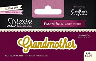 Die'sire 'Essentials Only Words' Collection Cutting Dies - Grandmother