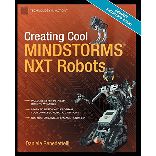 Creating Cool Mindstorms Nxt Robots Technology In Action Benedettelli Daniele 9781590599662 Amazon Com Books