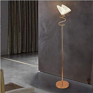 -Lampe de solon Lampe de plancher lumineux salon de salon de luxe net rouge ins-lampe papillon lampe créative de la chambr...