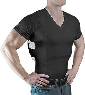 Men's V-Neck- Concealed Carry Holster Shirt