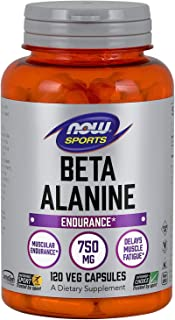 NOW® Beta-Alanine, 750 mg, 120 Capsules