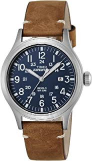 Men's Quartz Watch Timex Expedition Scout TW4B01800 with Leather Strap