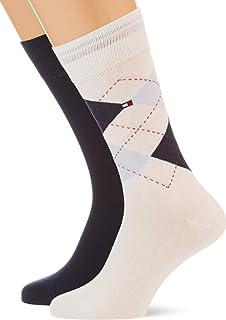 Tommy Hilfiger Men's Checkered Socks