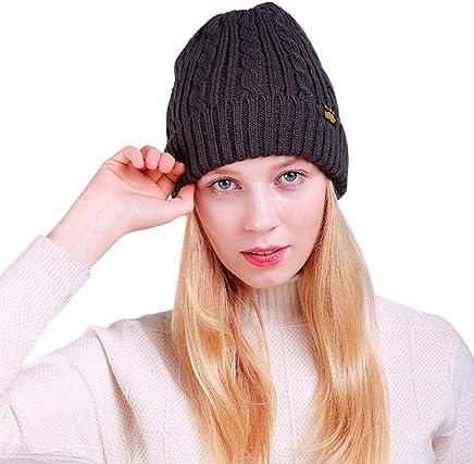 1cc99e8c Warm Chunky Crochet Beanie Hat,Tuscom Women Baggy Weave Crochet Winter Knit  Ski Beanie Skull