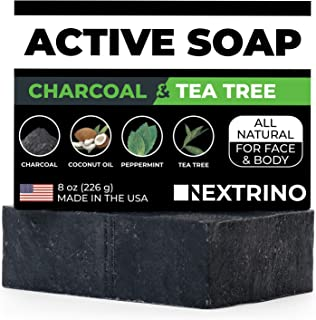 carbon theory charcoal and tea tree oil soap