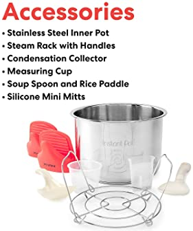 Instant Pot Smart WiFi 8-in-1 Electric Pressure Cooker, Slow Cooker, Rice Cooker, Steamer, Saute, Yogurt Maker, Cake ...