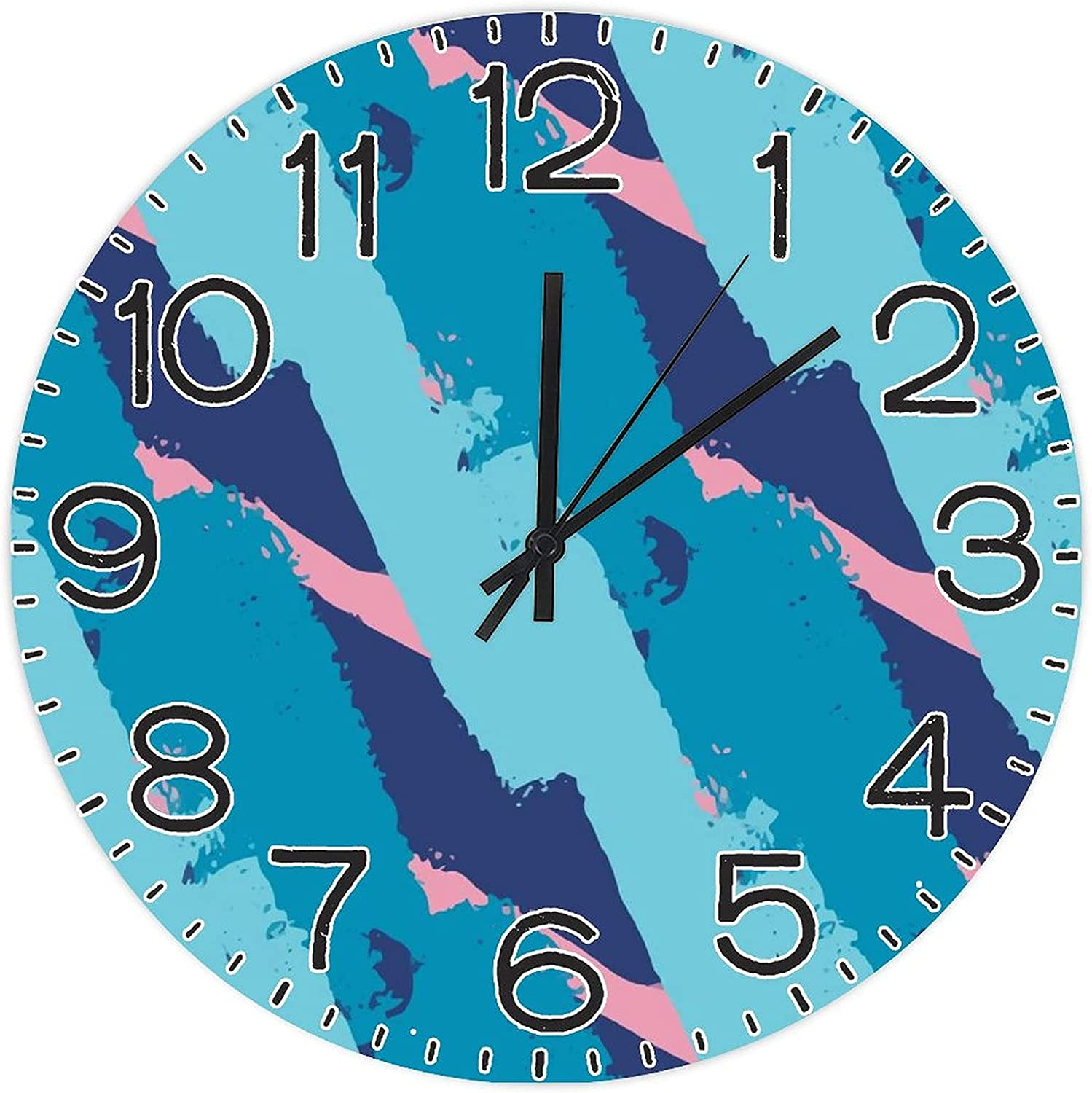 DKISEE Ranking TOP16 Wooden Round Reservation Wall Clock Numerals FXH20200303GPC029 Arabic