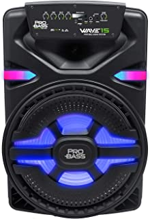 "$179 » Sponsored Ad - Pro Bass Wave 15, Portable Audio System 15"", True Wireless Stereo, MP3 Player, Battery Powered, Bluetooth, ..."