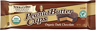 Newman's Own Dark Chocolate Cups, Peanut Butter, 1.2-Ounce Cups (Pack of 16)