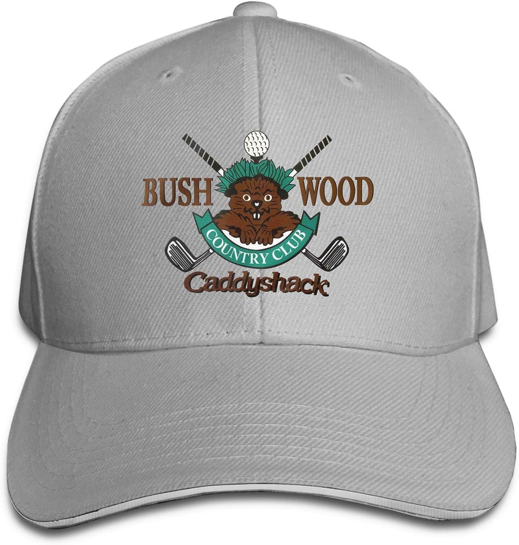 Caddyshack Bushwood Country Club Unisex Adult Baseball Cap Golf Baseball Cap Adjustable Sandwich Cap