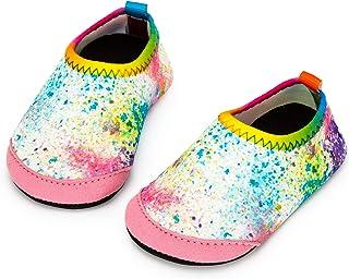 Yorgou - Chaussures de plage pour bébé - Chaussures de bain - Séchage rapide - Antidérapantes - Pied de bar - Pour enfants