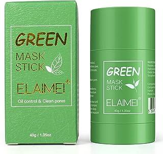 Green Tea Purifying Clay Stick Mask, Maschera In Stick Al Tè Verde, Oil Control Solid Mask Maschera idratante per Pulizia ...