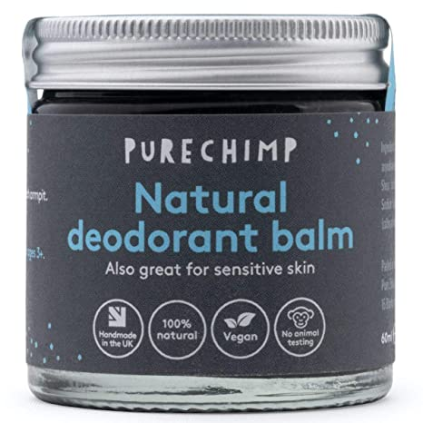 PureChimp Natural Deodorant Balm