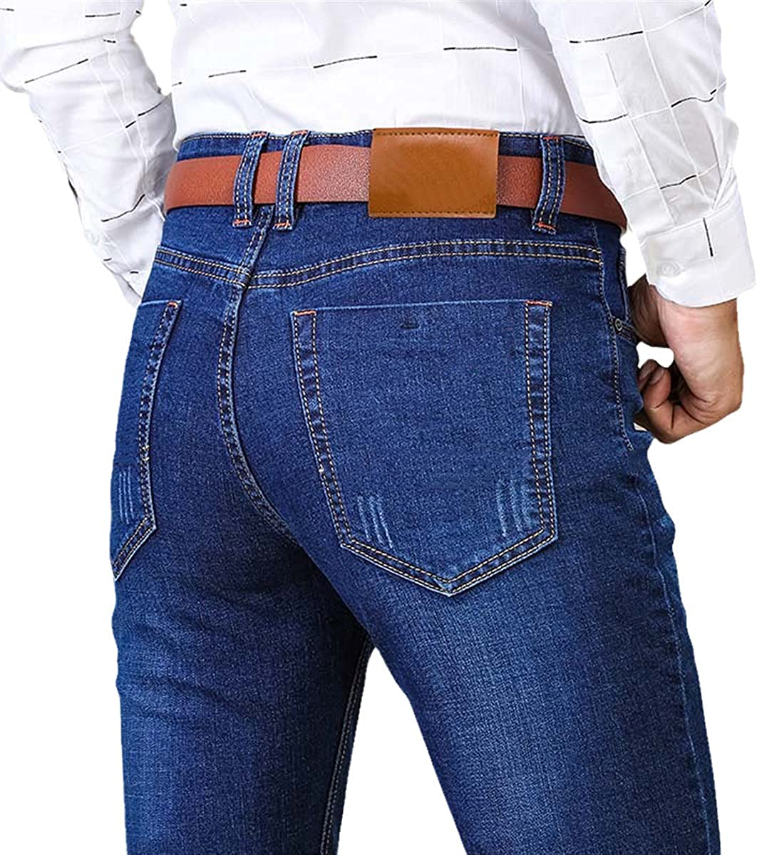 Men's Classic Jeans Overalls Fashion Trend Pants