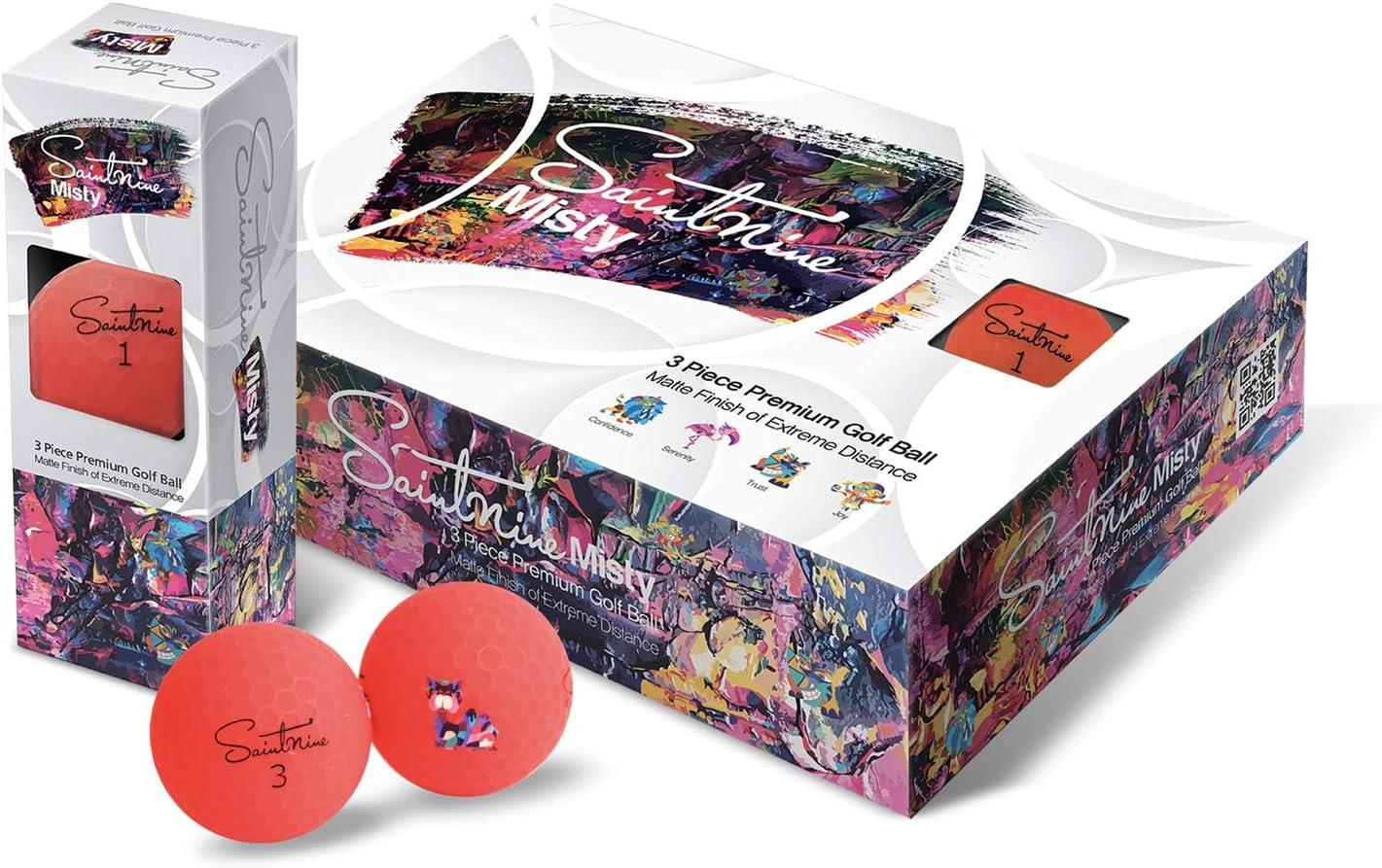 SAINTNINE Misty Golf One Dozen Balls Popular popular Discount mail order