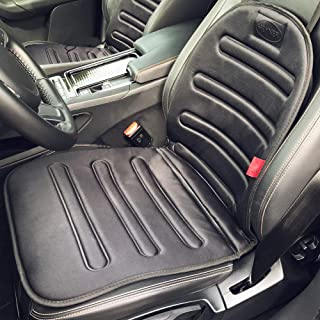 HEYNER® 504000 Heizsitzauflage Auto Heizbare Sitzauflage Universal schwarz