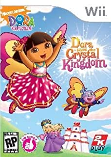 Take-two Interactive Software 710425346705 WII DORA SAVES CRYSTAL KINGDOM [video game]