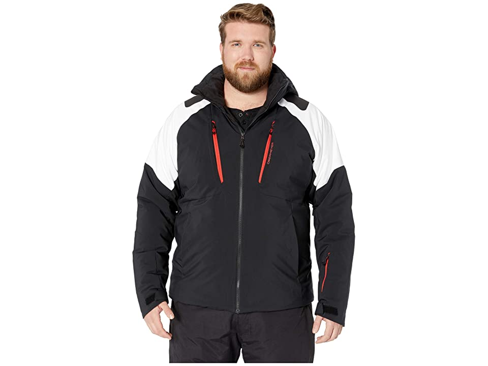 Obermeyer Big and Tall Foundation Jacket (White) Men