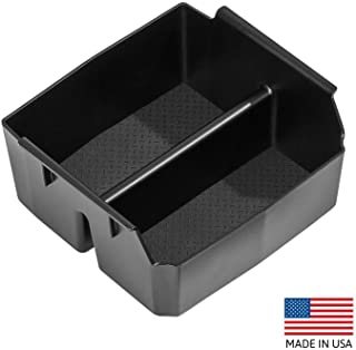 Vehicle OCD Center Console Organizer Tray Compatible with Jeep Wrangler JK and JKU (2011-2018) (NOT for 2018 Jeep Wrangler JL) - Made in USA