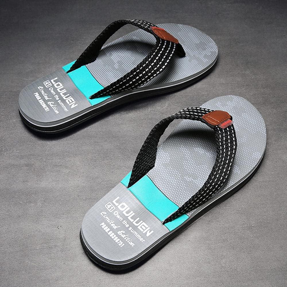 Kirin-1 Girls flip Flops Size 13,Summer Men's Non-Slip Anti-Stink Sports Cool slippers-39_A