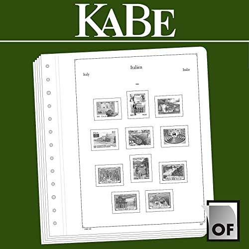 KABE feuilles compléHommestaires OF Italie 2015