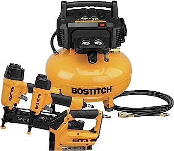 Bostitch Air Compressor Combo Kit, 3-Tool (BTFP3KIT): image