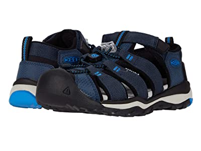 KEEN Kids Newport Neo H2 (Little Kid/Big Kid) (Blue Nights/Brilliant Blue) Boy