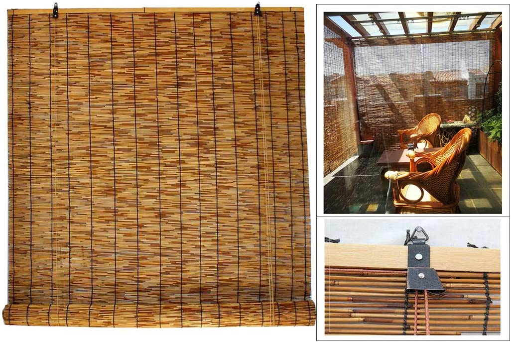 Filit Roller Blind for Windows A surprise price is realized supreme Natural Up Re Shade Roll Bamboo