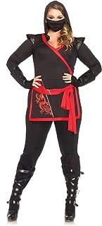 4 PC. Leg Avenue Ladies Ninja Assassin Set