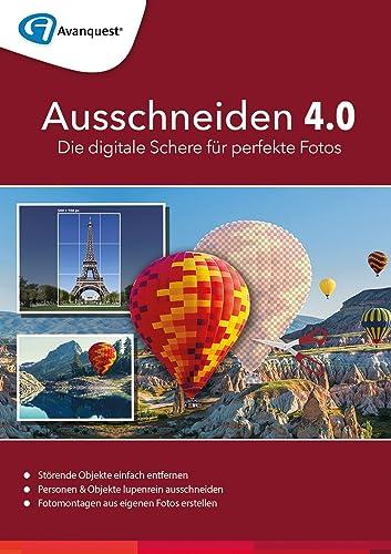 Ausschneiden 4.0 für Mac - Die digitale Schere für Ihre Fotos! Auch für MacOS High Sierra [Online Code]