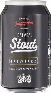 Brewerkz Oatmeal Stout, 330ml (Pack of 24)