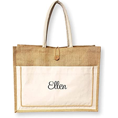 Vintage Plastic Woven Beach Shopping Bag Tote in Brown and Tan 12 x 17 12 Retro