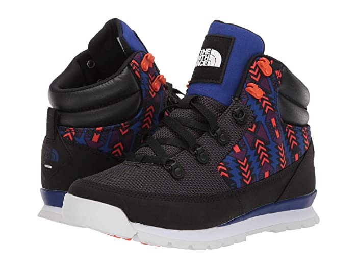 The North Face  92 Rage Back-to-Berkeley (TNF Black/Aztec Blue 1992 Rage Print) Womens Shoes
