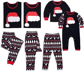 Famiglia Natale Pigiama Set Caldi adulto bambino ragazze Boy Mamma Madre Sleepwear