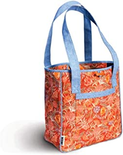 Porcelain Brady Tote with Cosmetic Capitol Bag Set.