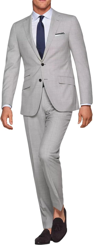 Fenghuavip Men's Tuxedo Suit 2 Pcs Classic Fit For Business Party